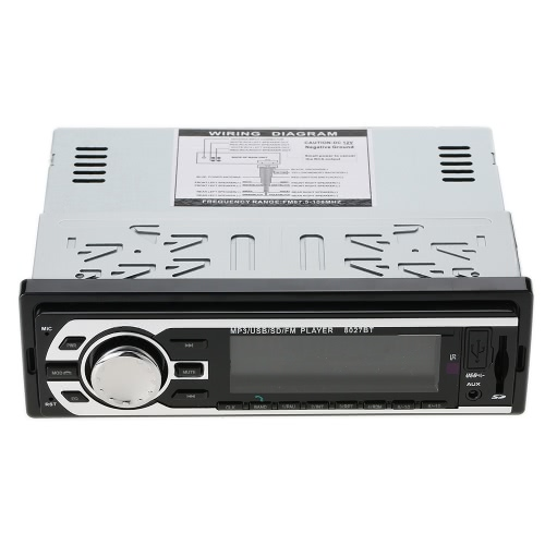 JSD-8027BT Multifunction Stereo BT Vehicle MP3 Player Car Radio