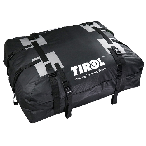 TIROL Waterproof Car Roof Top Carrier Cargo Luggage Travel Bag