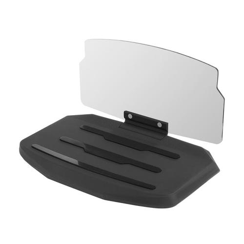 Universal  6.5 Inch Mobile Phone Car Holder HUD Mobile Navigation Bracket Car HUD Holder