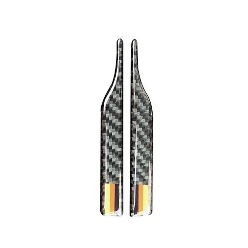Kohlefaser Rückspiegel Anti-Rub Streifen Schutz für BWM E90 E60 F30 F34 F10 F20 x1 x3 x4 x5 x6 Auto Antikollisionsstreifen