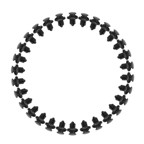 Nylon parachoques sujetador Rivet Clips 10mm