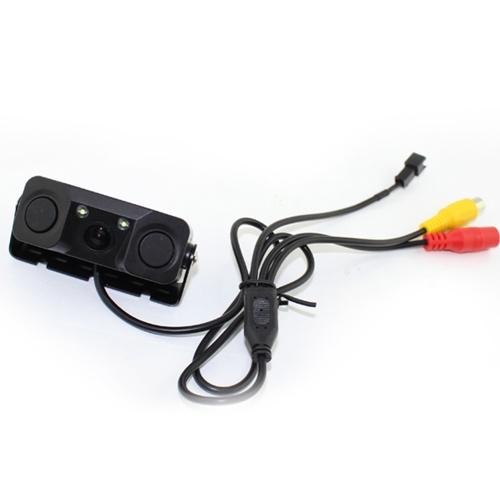 PZ451 3 en 1 voiture renversant kit caméra intelligente de capteur de détecteur de Rearview