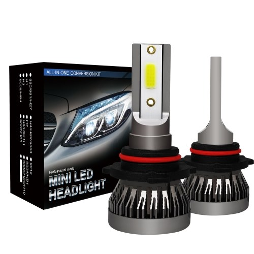2Pcs Car 9006 Комплект для преобразования светодиодных ламп фар