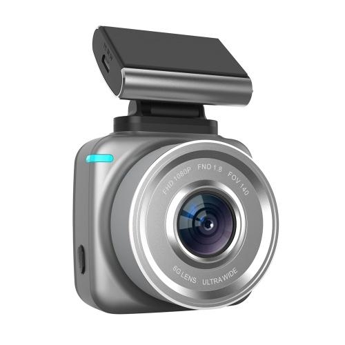 Anytek自動ダッシュカム2 '' 1080 P高精細ダッシュカメラカメラドライブレコーダー