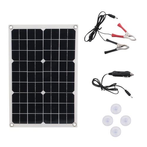 Портативные солнечные панели Sun Power Recharger для путешествий и дома 50W Dual USB зарядные устройства