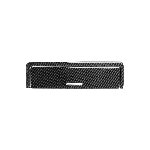 Накладка на раму ключа коробки передач в салоне из углеродного волокна Декоративная крышка для BMW 3 серии E46 (1998-2005)