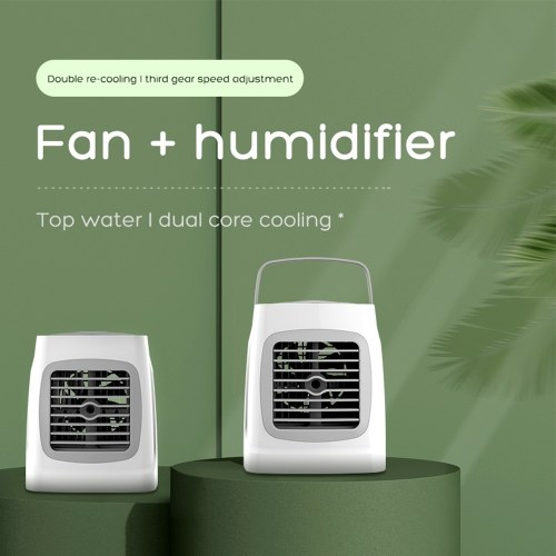 Mini Air Conditioning Air Conditioner with Humidification Function Personal Portable USB Small Cooler