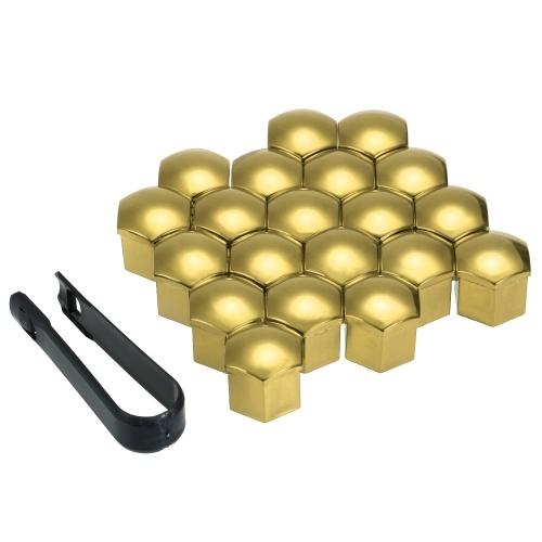 20pcs Universal Wheel Nut Covers Lug Nut Caps Screw Protector