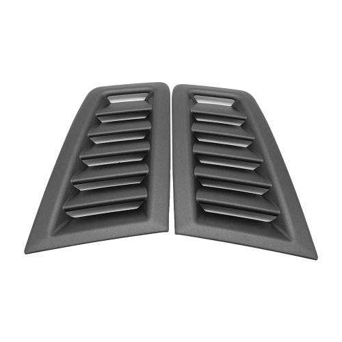 Bonnet Air Vent Hood Panel Boquilla Rejilla Frosted Black Repuesto para FOCUS RS MK2 Style ABS Plástico Universal Repuesto para Ford Matte Black