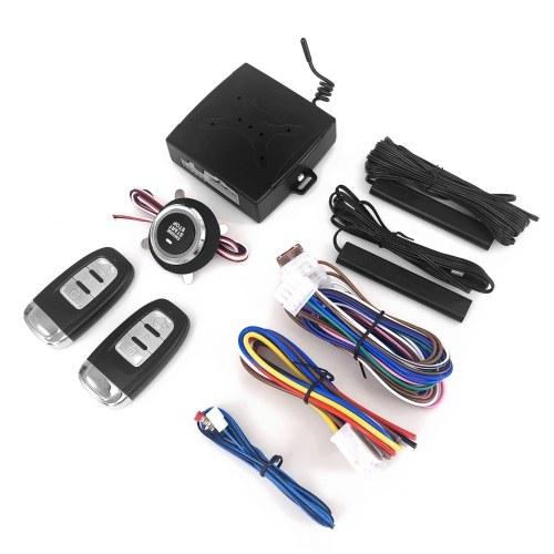 El sistema de arranque universal con un clic de 12 voltios Modificar el sistema de acceso sin llave Sistema de alarma Arranque remoto Control remoto Auto Coche Uno arranca Parada Sistema de motor