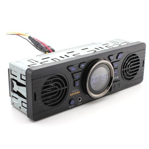 Tarjeta de memoria digital segura para coche de 12,0 V, Audio MP3, radio eléctrica para coche con altavoz BT, altavoz anfitrión, Radio para coche, estéreo para coche