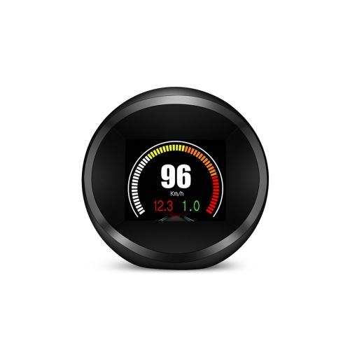 Car HUD Display OBD+GPS Head Up Display High Definition Safe Driving Computer Car Diagnostic Tool