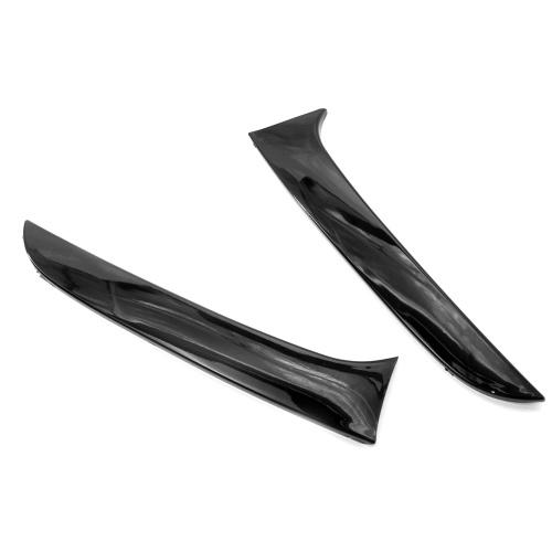 1 par de recambio del divisor de aire del alerón de la ventana lateral trasera Vertical para BMW Serie 1 F20 F21 2012-2019