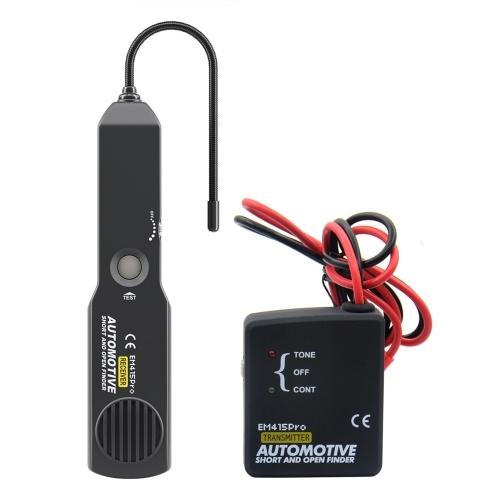 Тестер цепи для автомобильного диагностического прибора на короткое замыкание и обрыв Инструмент для ремонта короткого замыкания Автомобильный трекер проводов