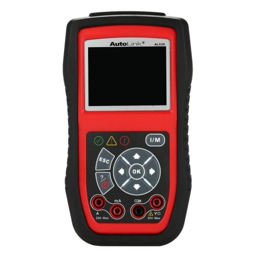 Autel AL539 OBD OBDII Auto Diagnostic Scanner Car Scan Engine Inspection and Fault Code Reader Diagnostic Tool