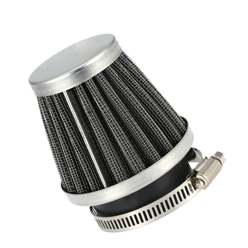Double Layer Steel Filter Gauze Universal Motorcycle Motorbike Replacement Clamp-on Air Filter 50mm Mushroom Head Cleaner for Scoo