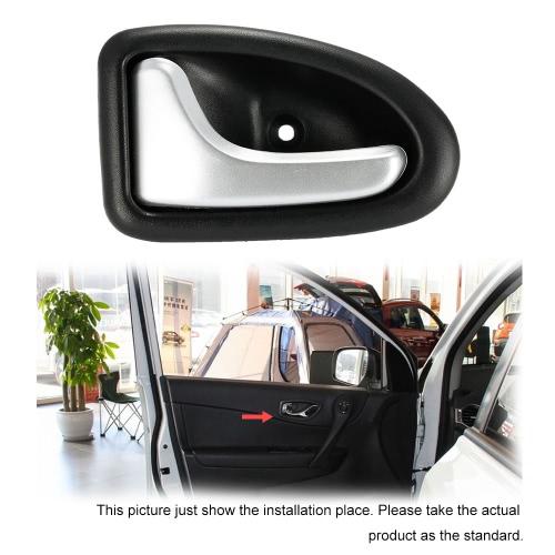 Car Interior Left Door Handle Chrome Plated for Renault Clio Megane