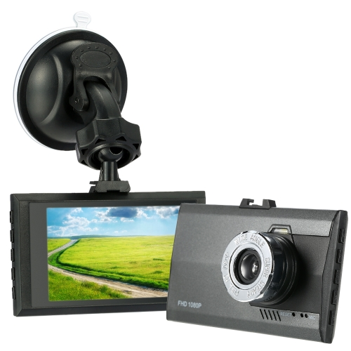 KKMOON Ultra Slim 3.0 polegadas 1080P HD Car Dash DVR