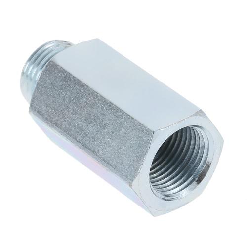 Stainless Steel Oxygen Sensor O2 Lambda Sensor Extender Spacer for Decat & Hydrogen M18