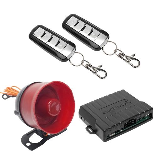 Steelmate SK02 Car Alarm Security System Smart Engine Lock Remote Control