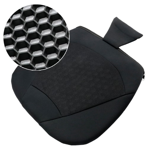 TIROL 1 Piece Universal Breathable Car Seat Cushion for Car Seat or Office Chair