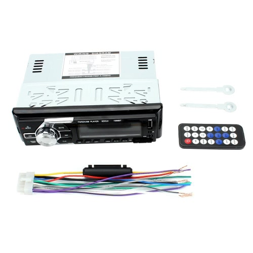 1066BT 12V Car Stereo FM-радио MP3-плеер для аудио Поддержка BT-телефона с USB / SD MMC-портом Автомобильная электроника In-Dash 1 DIN Wireless Remote Control
