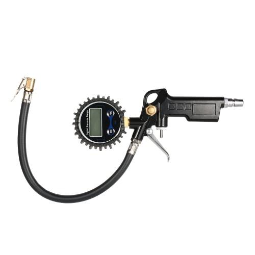 Цифровой манометр 10-220PSI для автомобильных мотоциклов