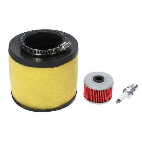 Filtre à huile et bougie d'allumage pour Honda Rancher 350 Foreman 400 450