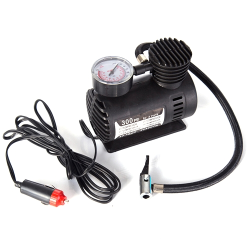 Car Mini Electric Inflation Pump Portable Tyre Air Inflator 300PSI Auto Compressor Pump for Car Bicycle Motorcycle Basketball