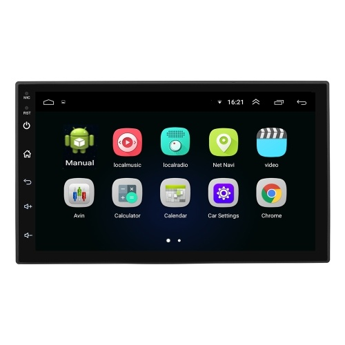 7 Inch Android 8.1 Car player GPS Navigation 16GB Car BT MP5 Player