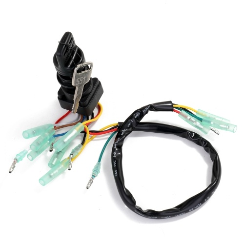 703-82510-42 Control Box Motor Easy Install Fitness Ignition Switch Key Main Replacement Outboard Boat for Yamaha