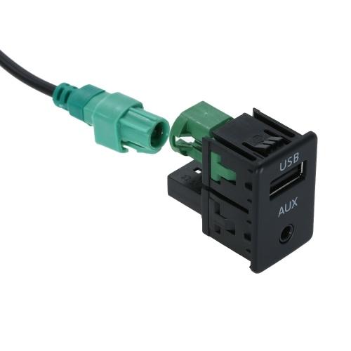 Автомобильный USB-адаптер AUX Универсальная USB-зарядка для Clarion Alpine