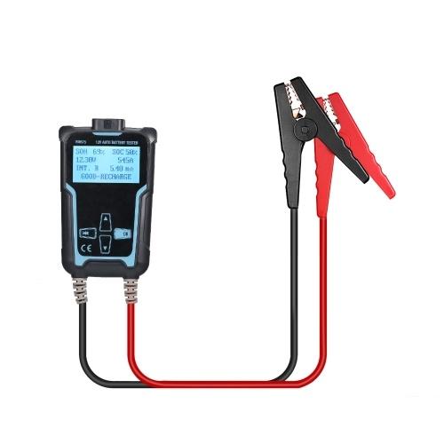 12V-24V Car Battery Tester Analyzer 100-2200 CCA Automotive Load Battery Tester Digital Analyzer Bad Cell Test Tool
