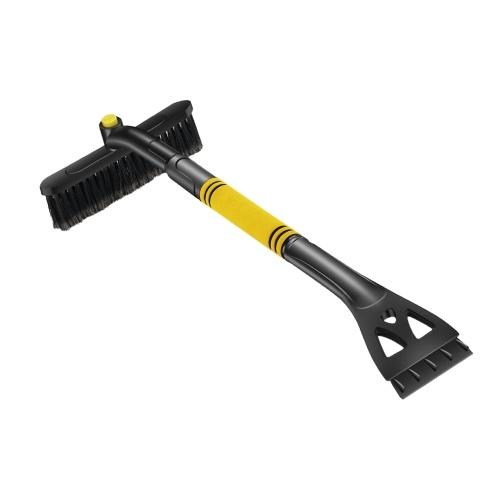 Cepillo de limpieza de coche 3 en 1 Raspador de hielo Cepillo de pala de nieve desmontable Cepillo para quitar el polvo