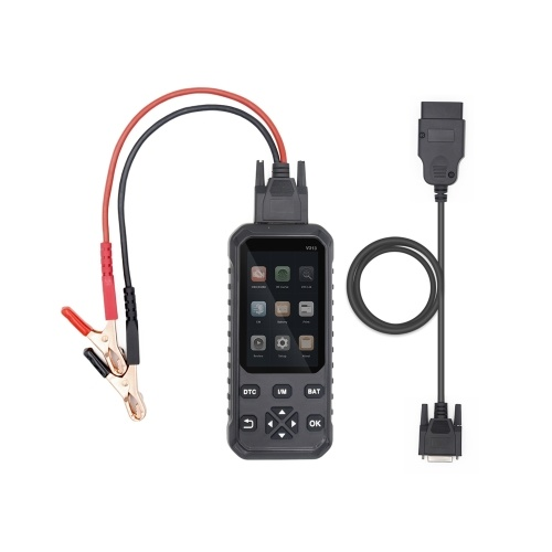 Universal 2 in 1 OBDII OBD Scanner Code Reader Car Code Scan Diagnostic Tool and Battery detector Auto Code-reader