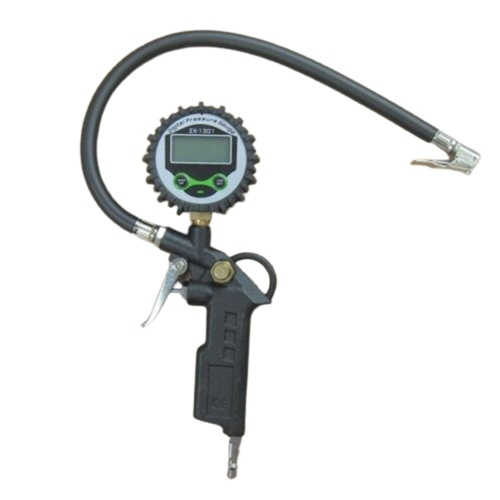 Medidor de presión digital Pantalla LCD Inflador de inflado de neumáticos de aire Medidor digital 220PSI