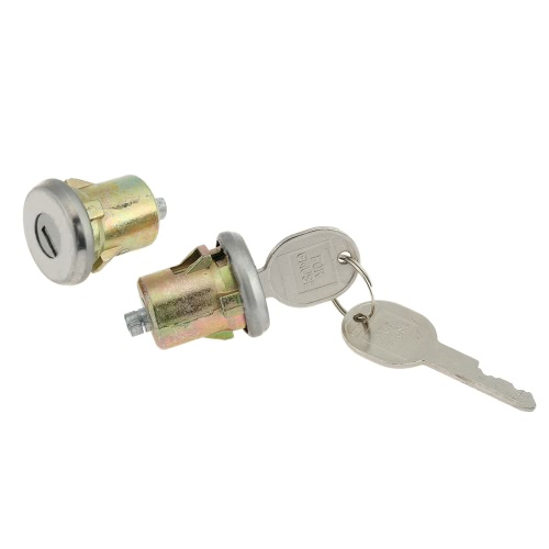 Pair of Door Lock Cylinder Set with 2 Keys for Chevrolet GMC Buick Cadillac Oldsmobile Pontiac