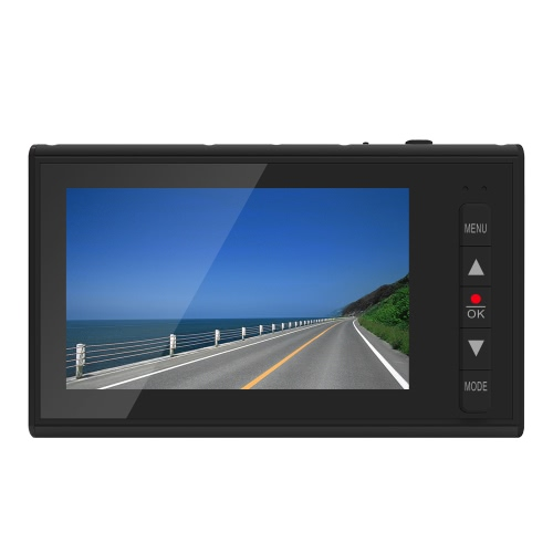 PAPAGO F10 Novatek 96220 2.7-дюймовый автомобильный видеорегистратор с диагональю 1080P