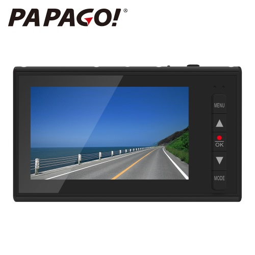 PAPAGO F10 Novatek 96220 2.7 inch 1080P LCD Screen Car DVR