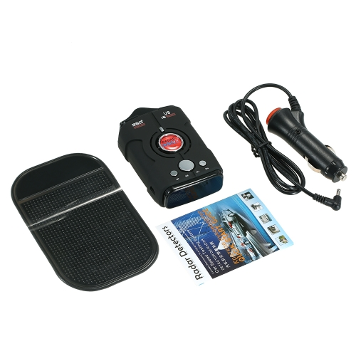 360 Degree Car Radar Detector 16 Band LED Display Anti Radar Detector XK NK Ku Ka Laser Security Russia/English Version