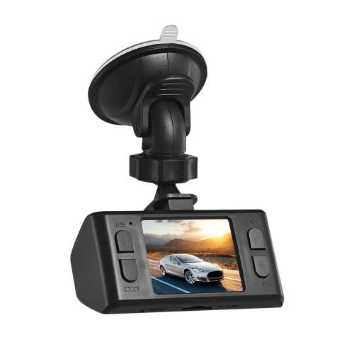 """Appareil photo de tableau de bord Full HD 720P DVR voiture 2,0 """"enregistreur de conduite à écran LCD 120 grand angle"""