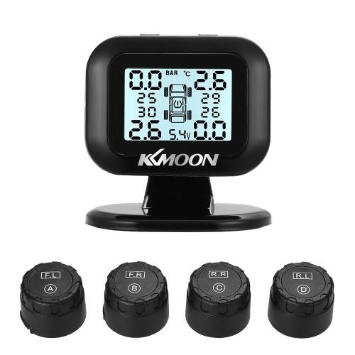 Sistema de control de presión de neumáticos KKmoon TPMS