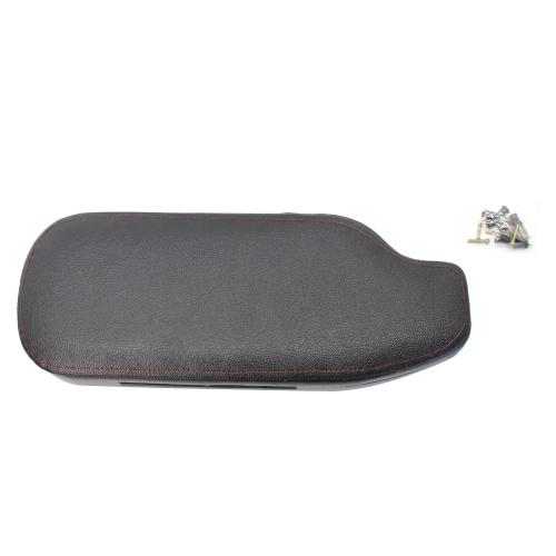 Mittelkonsolen-Armlehnenbezug Schwarz Euro-Spec Klapparmlehne mit roter Naht Passend für Scion FRS / Subaru BRZ / Toyota 86 13-18