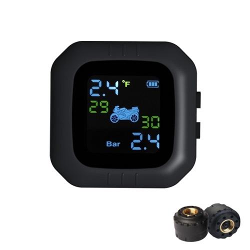 Sistema de Monitoramento de Pressão de Pneus Moto Sem Corda TPMS À Prova D 'Água