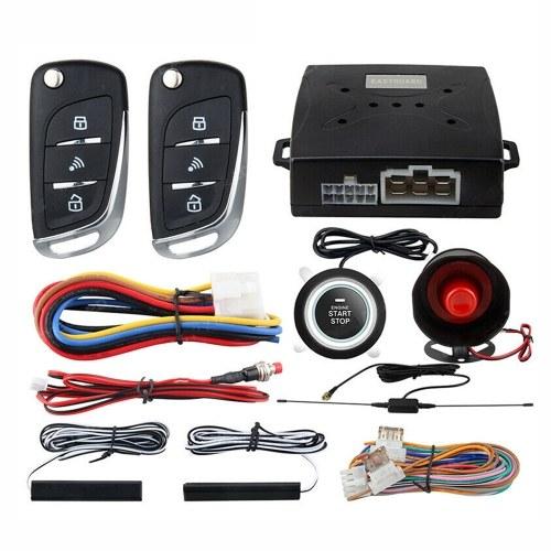Système de télédéverrouillage sans clé d'alarme de voiture PKE pour démarrage à distance