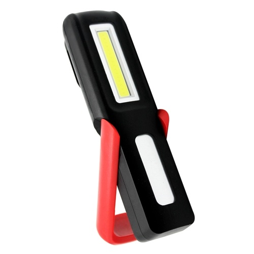 Rechargeable LED Work Light Rotate Portable with Magnetic Base Hanging Hook Emergence Light for Car Repairing Camping Hiking