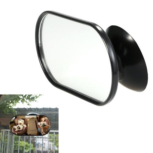 Регулируемое детское зеркало заднего сиденья автомобиля Зеркало заднего вида заднего зеркала безопасности черный