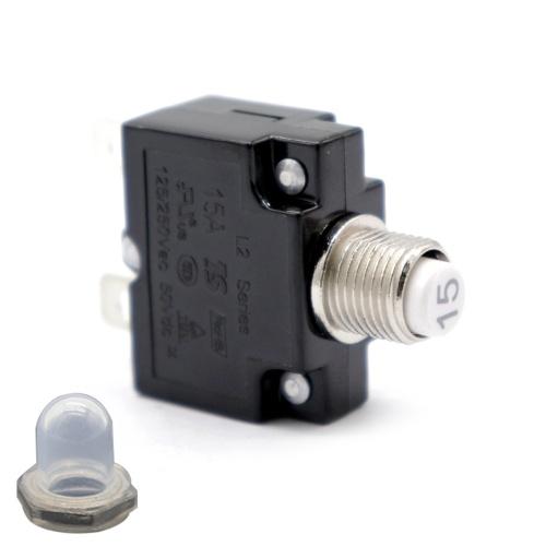 AC 125 / 250V 15A Сброс тепловой выключатель защиты от перегрузки автоматический выключатель защиты от перегрузки