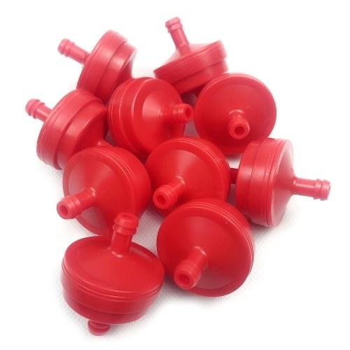 Газонокосилка 1/4 '' Замена встроенного газового топливного фильтра для Briggs Stratton 298090, 4105, 298090S, 5018B, 5018H, 5018K, 10 шт.