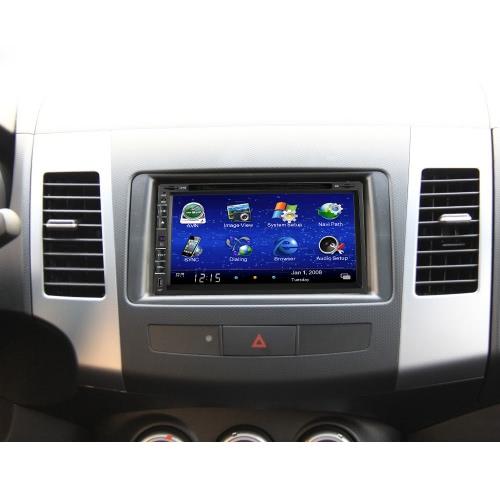 7 pouces 2 Din voiture lecteur DVD/USB/SD
